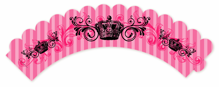 Juicy Couture Inspired Birthday Party Cupcake Wrappers ...