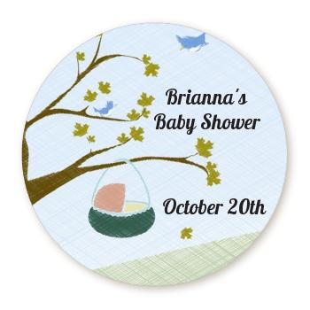 Nursery Rhyme - Rock a Bye Baby Personalized sticker ...