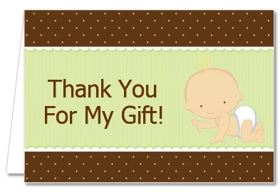 Baby Neutral Caucasian - Baby Shower Thank You Cards