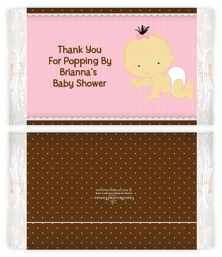 Baby Girl Asian Baby Shower Popcorn Wrappers Baby Shower Popcorn