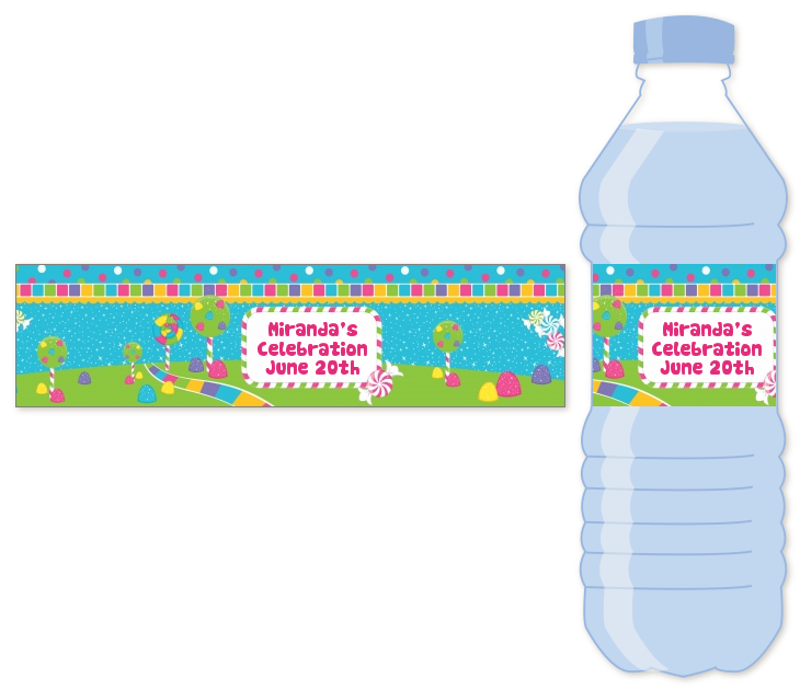 bottle sticker labels