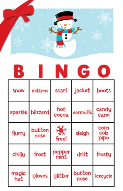 Christmas Bingo With Pictures To Print Free | Search Results ...