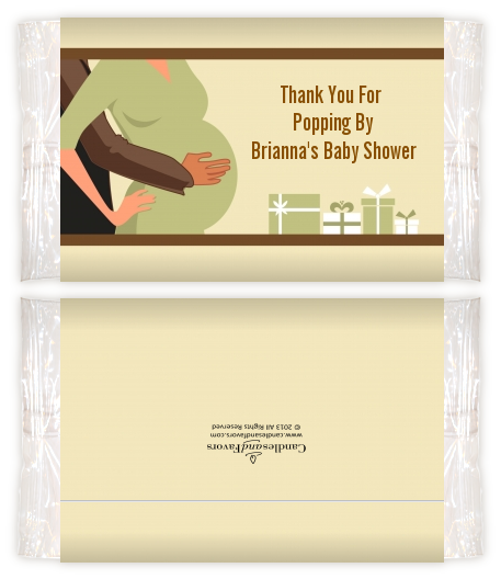 Couple Expecting Baby Shower Popcorn Wrappers Baby Shower Popcorn
