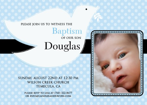 Dove blue baptism photo baptism christening invitations dove blue baptism photo baptism christening invitations stopboris Gallery