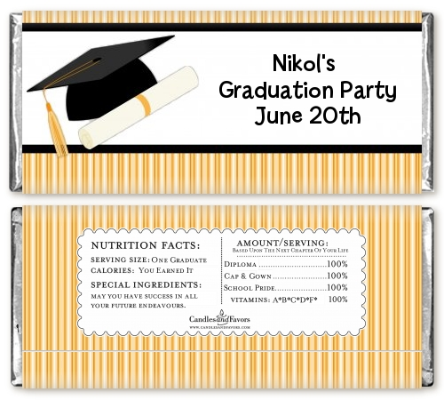 Graduation candy bar wrappers candy bar wrappers free for Free printable graduation candy bar wrappers templates
