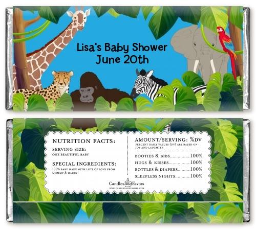 Jungle safari baby shower ideas