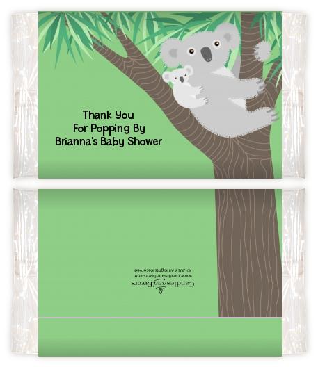 Koala Bear Baby Shower Popcorn Wrappers Baby Shower Popcorn Wrappers