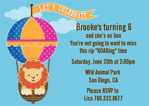 Lion birthday party invitations candles and favors lion birthday party invitations filmwisefo