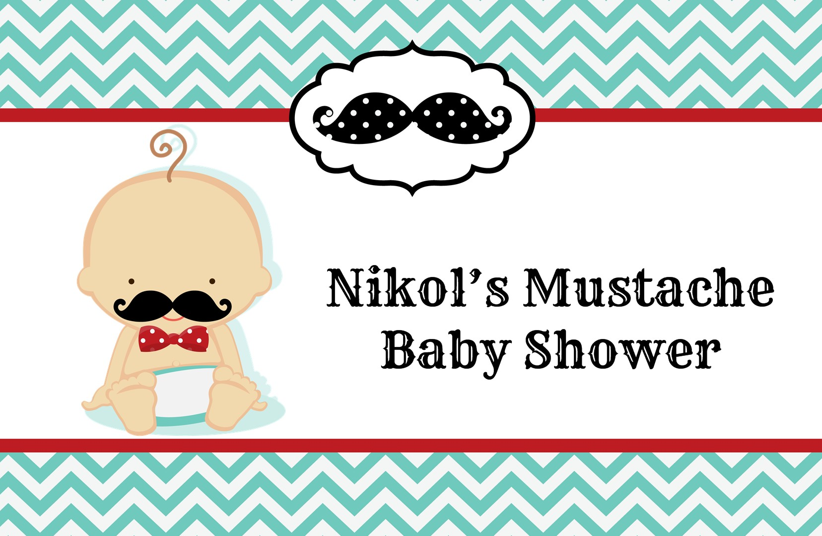 Little man mustache baby shower place mats little man mustache little man mustache personalized baby shower placemats caucasian filmwisefo