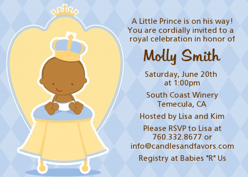 little prince baby shower invitations  raystoystore, Baby shower invitations