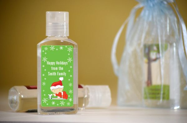 ... Christmas Baby Snowflakes   Personalized Christmas Hand Sanitizers  Favors ...