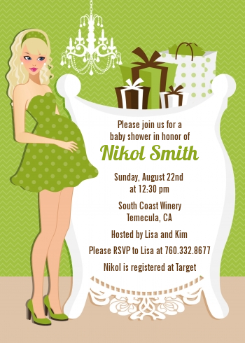 neutral baby shower invitations   invitation cards, Baby shower
