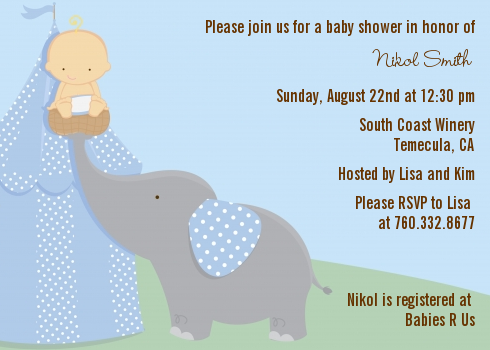 our little peanut boy baby shower invitations | candles and favors, Baby shower invitations