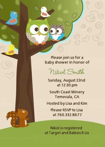 Owl baby shower invitations baby shower invitations with owls owl look whooos having a baby baby shower invitations filmwisefo Image collections