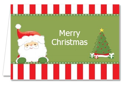 Santa Claus - Christmas Thank You Cards