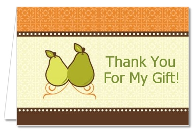 The Perfect Pair - Bridal Shower Thank You Cards