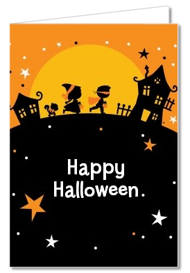 Trick or Treat - Halloween Thank You Cards