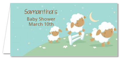 Sheep - Personalized Baby Shower Place Cards