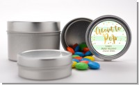 About To Pop Gold - Custom Baby Shower Favor Tins