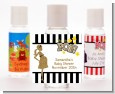 About To Pop Gold Glitter - Personalized Baby Shower Hand Sanitizers Favors thumbnail