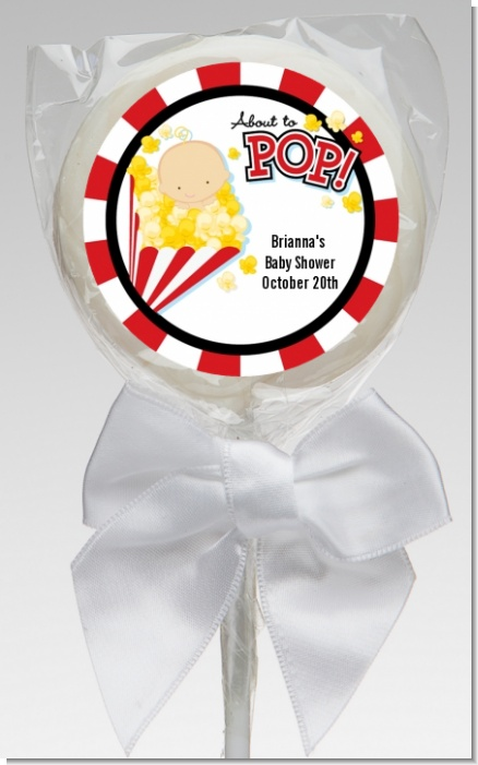 About To Pop ® - Personalized Baby Shower Lollipop Favors