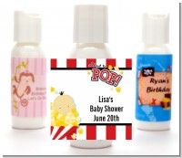 About To Pop - Personalized Baby Shower Lotion Favors