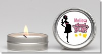 About to Pop Mommy Pink - Baby Shower Candle Favors