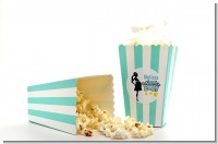 About To Pop Mommy - Personalized Baby Shower Popcorn Boxes - Set of 12