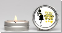 About to Pop Mommy Yellow - Baby Shower Candle Favors