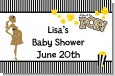 About To Pop Gold Glitter - Personalized Baby Shower Placemats thumbnail