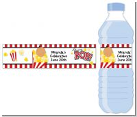 About To Pop - Personalized Baby Shower Water Bottle Labels