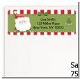 Santa Claus - Christmas Return Address Labels thumbnail