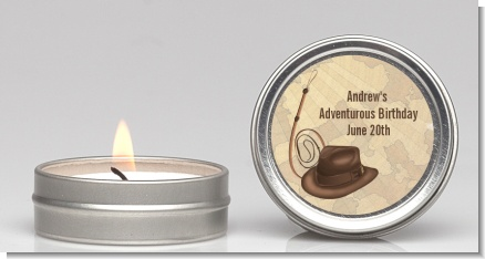 Adventure - Birthday Party Candle Favors