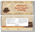 Adventure - Personalized Birthday Party Candy Bar Wrappers thumbnail