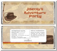Adventure - Personalized Birthday Party Candy Bar Wrappers