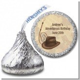 Adventure - Hershey Kiss Birthday Party Sticker Labels