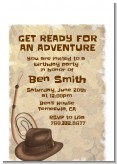 Adventure - Birthday Party Petite Invitations