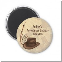 Adventure - Personalized Birthday Party Magnet Favors