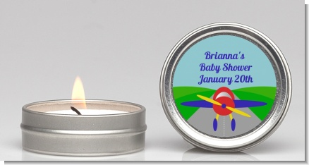 Airplane - Baby Shower Candle Favors