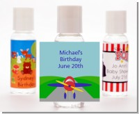 Airplane - Personalized Baby Shower Hand Sanitizers Favors