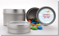 Airplane in the Clouds - Custom Baby Shower Favor Tins