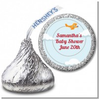 Airplane in the Clouds - Hershey Kiss Baby Shower Sticker Labels