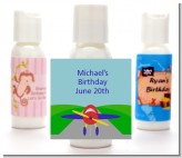Airplane - Personalized Birthday Party Lotion Favors