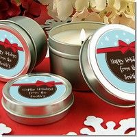 All Wrapped Up Gifts - Christmas Candle Favors