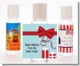 All Wrapped Up Gifts - Personalized Christmas Hand Sanitizers Favors thumbnail
