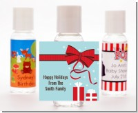 All Wrapped Up Gifts - Personalized Christmas Hand Sanitizers Favors