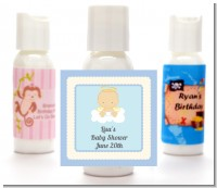 Angel in the Cloud Boy - Personalized Baby Shower Lotion Favors