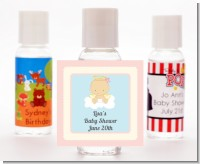 Angel in the Cloud Girl - Personalized Baby Shower Hand Sanitizers Favors