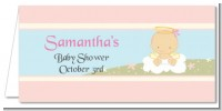 Angel in the Cloud Girl - Personalized Baby Shower Place Cards