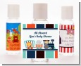 Animal Train - Personalized Baby Shower Hand Sanitizers Favors thumbnail
